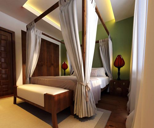 古典简约卧室装修