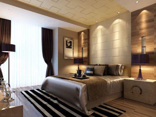 东南亚风情奢华卧室装潢