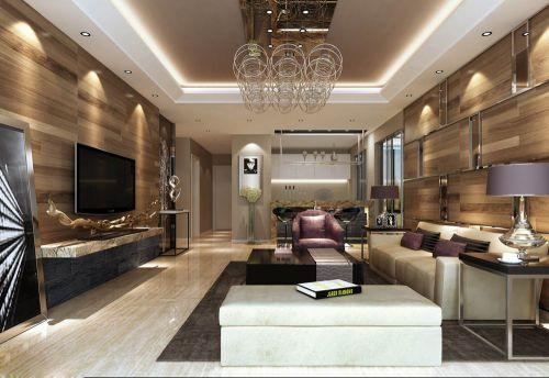 豪华客厅背景墙设计