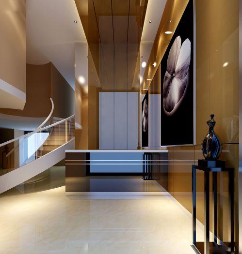 豪华别墅玄关设计