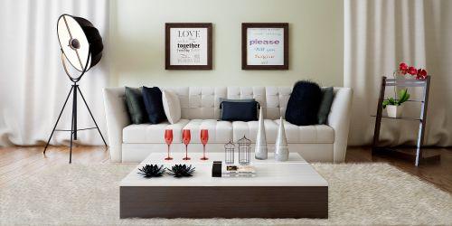 白色的时尚客厅设计