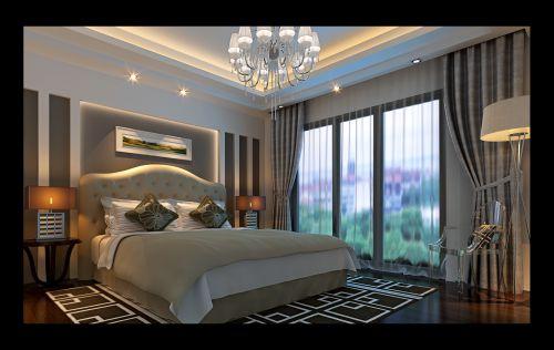 简约欧式卧室装修设计