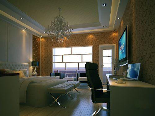 简欧温馨卧室设计