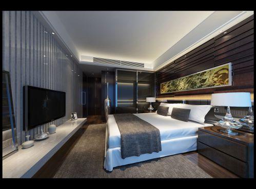 豪华的美式卧室设计