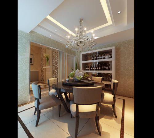 豪华优雅的餐厅设计
