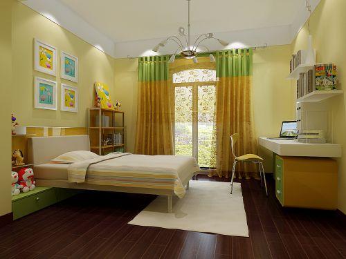 田园风格儿童房装潢设计