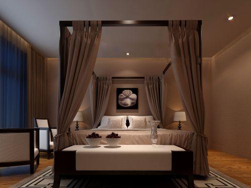 创意的中式卧室装修