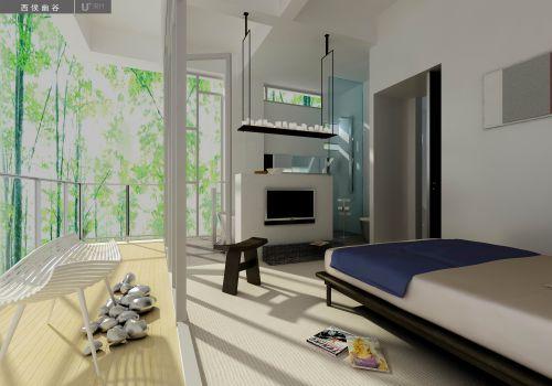 悠闲的田园卧室装潢