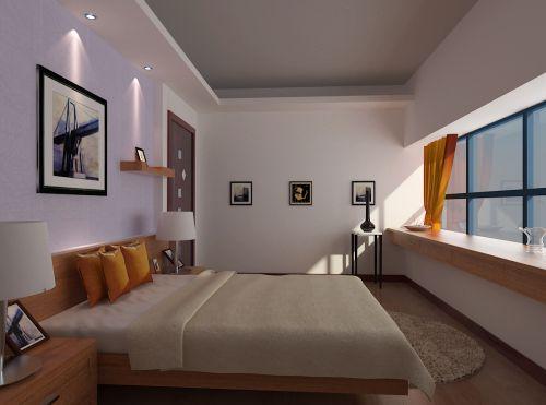 明亮简约的卧室装潢