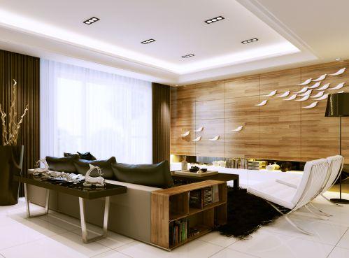 豪华舒适的客厅装潢