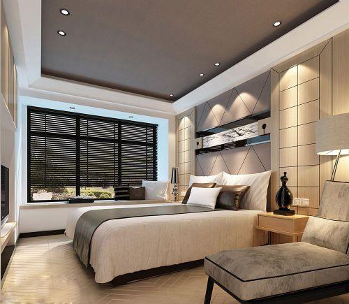 美式的卧室装潢