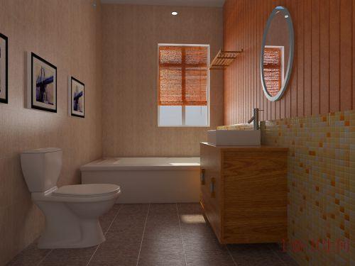 单身公寓简约卫生间装修