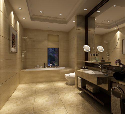 现代风格的卫生间设计