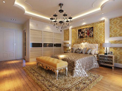 卧室欧式吊顶装修效果图