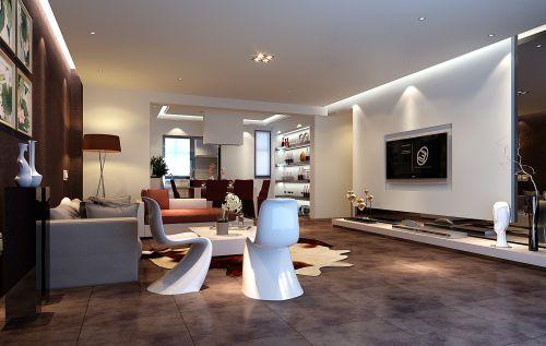 灰色简欧风格客厅设计