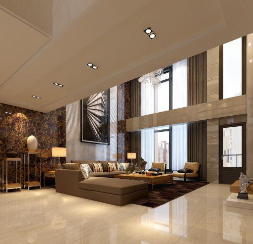 别墅简约客厅设计
