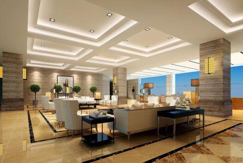米色优雅的客厅装潢