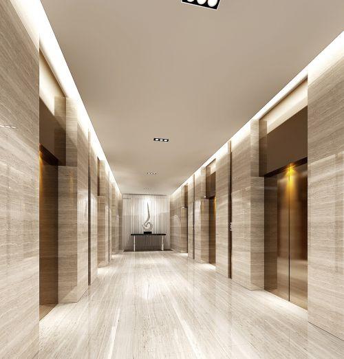 美式的宽敞走廊设计
