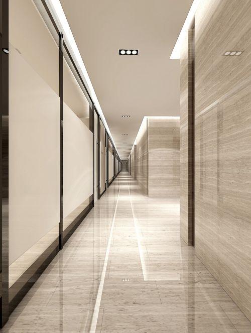 现代风格长走廊装修