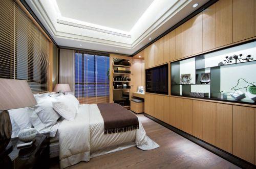 简约风格公寓式卧室设计