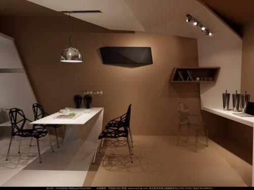 创意抽象餐厅设计