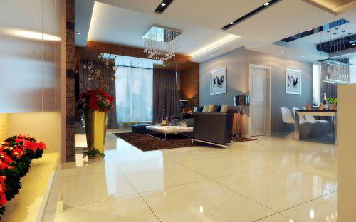 潮流现代的客厅设计