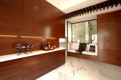 简约木质家具客厅装修