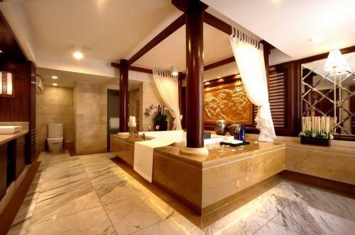 豪华中式风格的卫生间设计