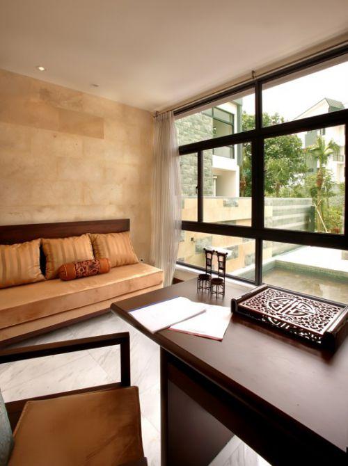 简约新中式客厅设计