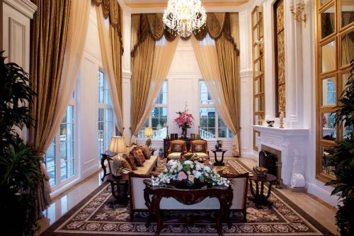 美式风格客厅装修效果图欣赏