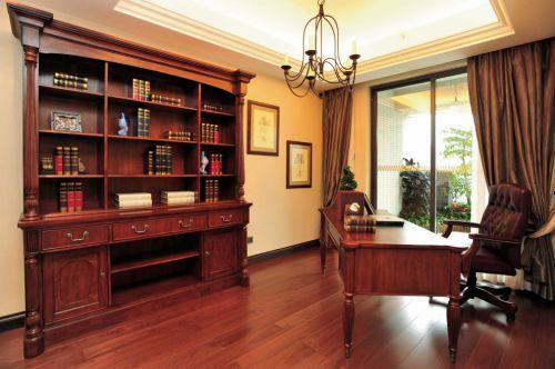 美式简约书房装修效果图欣赏