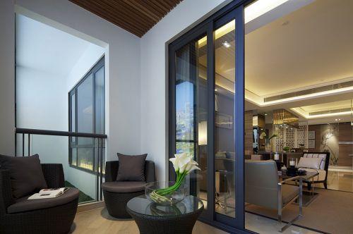 现代阳台休闲室设计