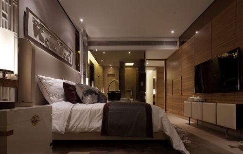 现代风格卧室装潢