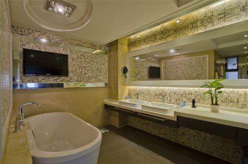 马赛克瓷砖豪华卫生间装潢