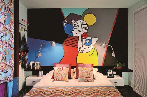 西班牙风情小卧室装修效果图