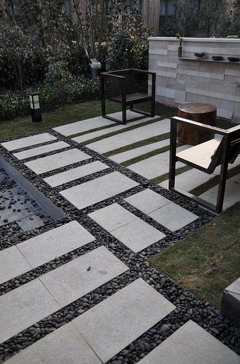 简约现代花园装潢