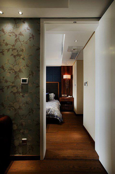 新中式简约卧室效果图