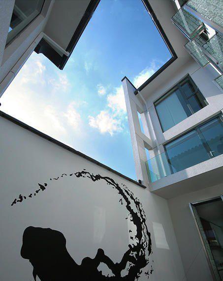 白色别墅外墙设计