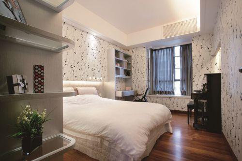 现代简约小卧室装修效果图