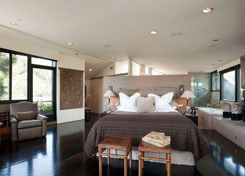 美式简约的卧室设计