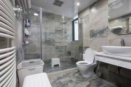 简约风格小型卫生间装修图