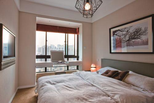 公寓式卧室阳台装修效果图