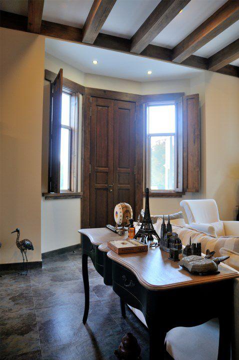 古典欧式书房客厅一体化设计