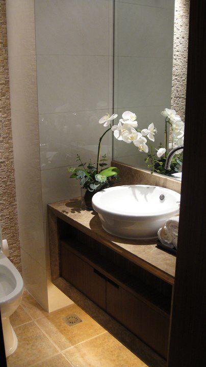 新中式简约的卫生间效果图