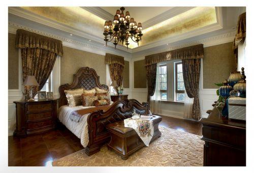 美式古典主卧室设计