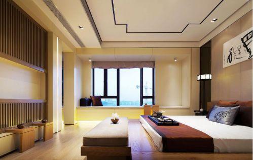 新中式卧室装修设计图片