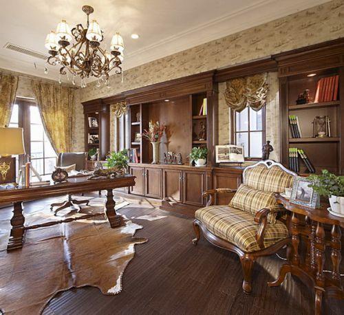 美式古典书房设计