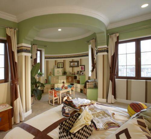 美式古典风格儿童房设计