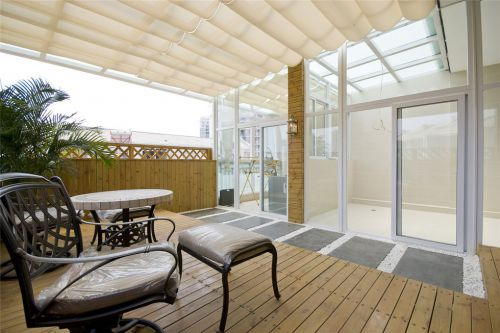 豪华休闲的阳台设计