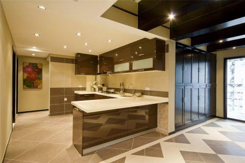 美式简约的厨房设计